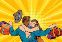 Lovely Couple women love types of men