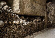 প্যারিসের ক্যাটাকম্বাস The Catacombs of Paris